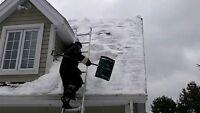 Service de déneigement de toiture