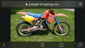 1984-1996 Honda cr250 or cr500