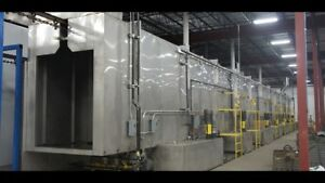 Powder coating systems paint line systems