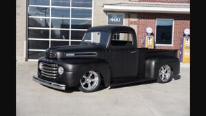 ISO 48-52 Ford truck cab and doors