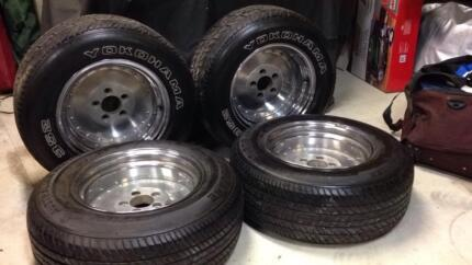 "14"" dragway rims and tyres suit early Holden Cleveland Redland Area Preview"