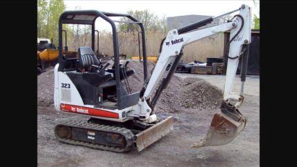 Mini Excavator & Dingo digger $80/hour