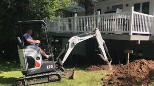 Excavator work & landscaping Attachments available