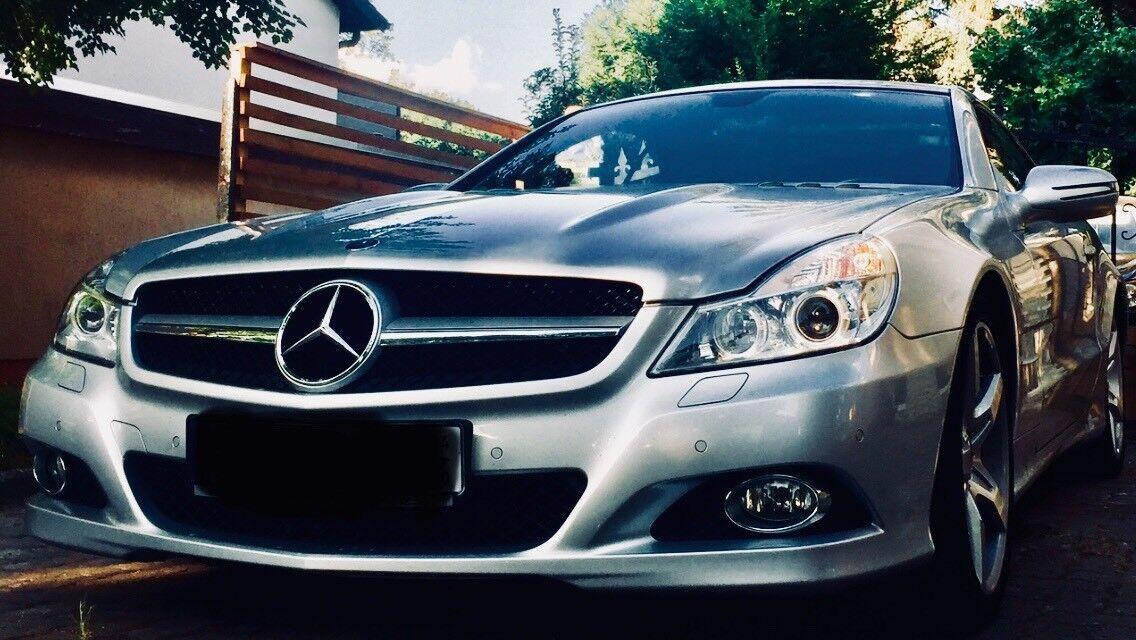 Mercedes Benz SL 500 AMG Facelift Deutsche Erstzulassung R230 SL500 Unfallfrei