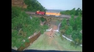Model Train Diorama N Scale Nollamara Stirling Area Preview