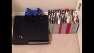 PS3 with cords