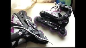 Roller skates kid size 10j -13j adjustable