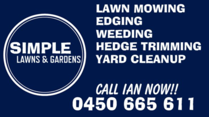 SIMPLE LAWNS & GARDENS