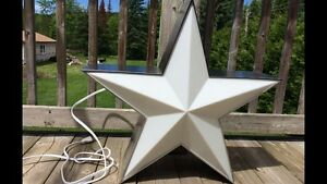 2 jolies lampes étoile western/2 country western star lamps