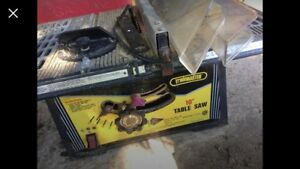 Trademaster table saw