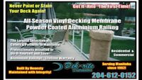 All Season Vinyl Deck Membrane