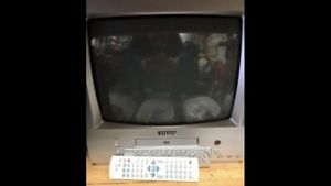 13 inch COLOR TV WITH BUILT IN DVD PLAYER