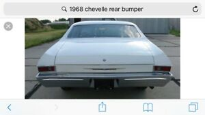 1968 chevelle rear bumper wanted