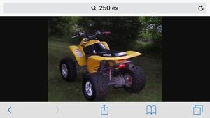 Honda 250ex I'm looking for parts bike