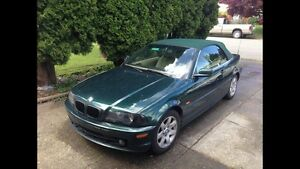 2000 BMW CONVERTABLE ( hard /soft ) Top