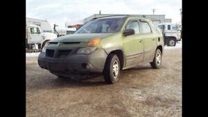 2001 Pontiac Aztec SUV clean title no rust low kilometres