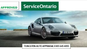 CERTIFIED CAR APPRAISALS- MTO APPROVED -$40