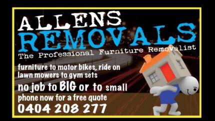 Allens removals interstate runs available  East Brisbane Brisbane South East Preview