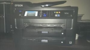 Used Epson WF-7620 all-in-one Printer PRICE DROP