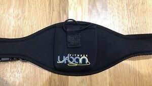 Urban Fitness - Aerobic Microphone (Mic) Fitness Pouch Belt - Black