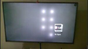 Fix LG TV whites spots on the screen