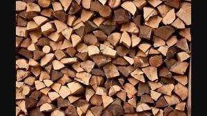 Bois de chauffage de bois franc 16pouces livraison disponible