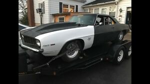 Wanted 69 camaro pro street project