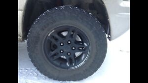 Mint Condition General Grabber AT2 Tires