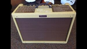 The Blues Deluxe reissue fender mint