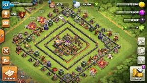 BEST CLASH OF CLANS ACCOUNT FOR WARS A MAX TH10.5
