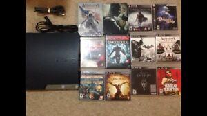 PS3 67 Games 320gb