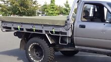 Hilux ute tray LN106 with canvas canopy and canvas tonneau Nerang Gold Coast West Preview
