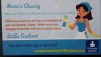 Mamas cleaning is taking on new customers and is now hiring