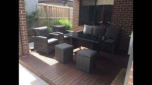 Outdoor setting 6pc Wicker Hampton East Bayside Area Preview