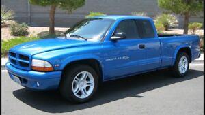 Dodge truck cap blue for a 2000 Dakota