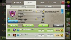 Max TH12 Clash of Clans Account Leader of Lvl 12 Clan