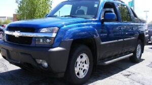 2002 Chevy avalanche parting out