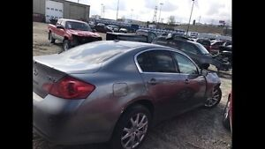 2009 Infiniti G37 XS AWD for parts
