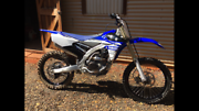 2017 yzf 250 Pinjarra Murray Area Preview