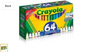 Crayola Washable Markers (64 pack)