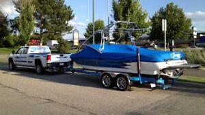 Sanger LTZ V237 wake/surf boat