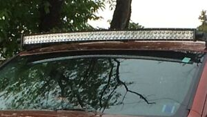 52 inch curved light bar , harness and brackets