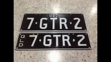 Licence Number Plate 7GTR2 - 1972 GTR Torana or GTR Skyline LC LJ South Brisbane Brisbane South West Preview