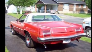 Just testing waters 1973 Pontiac Grand Prix
