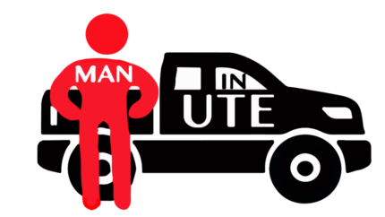 MURARRIE MAN and A UTE - 8FT Tray- AVAILABLE  TODAY