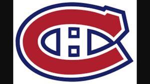 Billets des Canadiens à vendre!!!