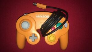 Cinnamon Orange official Nintendo GameCube controller