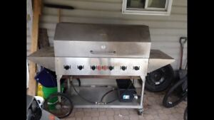 """48"""" stainless BBQ"""