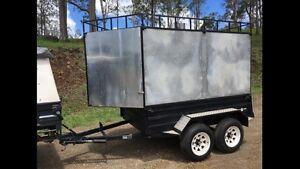 H/DUTY 8X5 DUAL AXLE BOX TRAILER Chevallum Maroochydore Area Preview