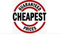 Lowest prices guaranteed( $15 and up ) #587-323-1799